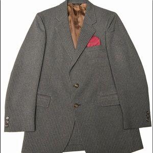VTG Mens 40R Fioravanti 3 Piece Suit 40R/32X31